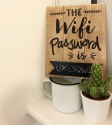 wifi password board