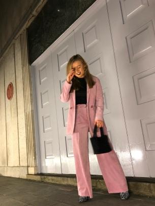 Jess Jepson cord suit