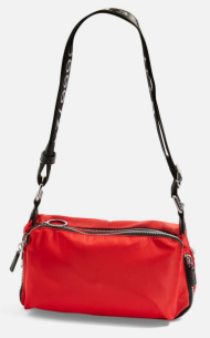 topshop red bag